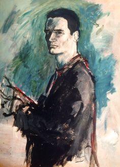 Reynaldo Zapp, auto retrato, 1986