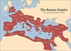 Rome and it's Empire - Decline and Fall: Roman Empire map Roman History, European History, World History, American History, British History, Ancient Rome, Ancient History, Ancient Aliens, Ancient Greece