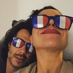 Lana Parrilla and her husband, Fred