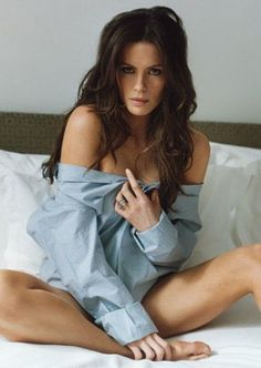 Kate Beckinsale in a Long Slee... is listed (or ranked) 3 on the list The 40 Hottest Kate Beckinsale Pictures of All Time