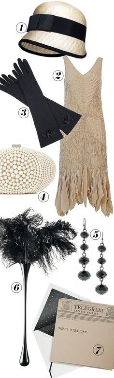 mood board - for the next Great Gatsby fancy dress!!