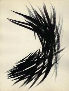 Painting by Hans Hartung.