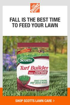 Build strong, deep roots with nutrients that help repair damage from summer heat and activities. Now is the time to feed your lawn for spring. Click to shop Scotts Turf Builder Winterguard at The Home Depot. Get it delivered or pick up in store.