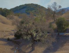 "Ann Lofquist, Valley Oak, Paso Robles, 2014 oil on canvas 26.5 x 34.5"" Courtesy of Ann Lofquist and Craig Krull Gallery, Santa Monica, California."