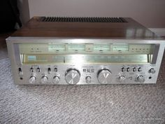 Vintage Sansui monster stereo receiver. Click on photo for more pics and story.