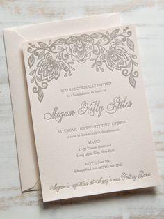 Wedding favor label box label personal label cake by lovemrandmrs floral shower letterpress bridal shower invitation sample filmwisefo Gallery