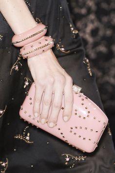Valentino at Paris Fashion Week Spring 2013 - Details Runway Photos Fashion Bags, Fashion Accessories, Paris Fashion, Best Handbags, Pink Handbags, Everything Pink, Best Bags, Evening Bags, Evening Clutches