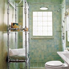 For less than $100 you can build a DIY Étagère out of plumbing pipe and fittings, plus shatterproof acrylic, rather than glass, for the shelves. | Photo: Jesse Walker/Cornerhouse Stock | thisoldhouse.com