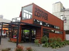 ideas about Shipping Container Cafe on Pinterest | Storage container ...