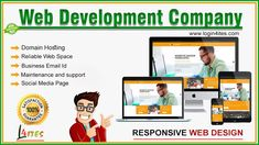 Login4ITES is a leading Web Designing and Development company in Delhi and Noida. Website Logo, Website Web, Web Analytics, Business Emails, Website Design Company, Responsive Web Design, Web Development Company, Social Media Pages, Promote Your Business