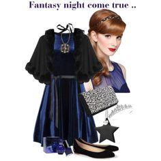 """Fantasy night come true..."" by glitterlady4 on Polyvore"