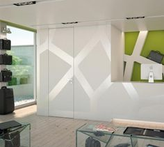 You can choose Garofoli Filomuro doors in different materials – wood, laminate, glass -, security and fire doors fitted flush to the wall, and even Filomuro doors with special openings such as Biverso and Filomuro Bilato. Door Images, Flush Doors, Skirting Boards, Fire Doors, Modern Door, Pocket Doors, Internal Doors, Sliding Doors, Space Saving