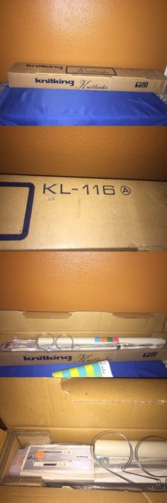 Machine Parts and Needles 146376: Knitking Knitting Machine Knitleader Model Kl 116 In Box -> BUY IT NOW ONLY: $50 on eBay!