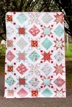 Stars and Windows PDF Download Quilt Pattern