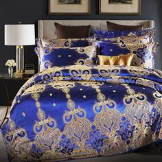 10+ Best Red and Gold Bedding images | bedroom decor, beautiful bedding,  beautiful bedrooms