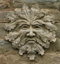 The Green Man. The Spirit of the Wilderness. Protector deity of animals and wild places.