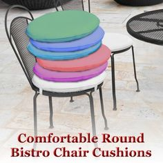 26 Best Round Bistro Chair Cushions Images Bistro Chairs Chair