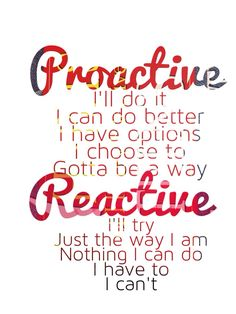 Be proactive ...Dig the well before your thirsty. | Motivational ...