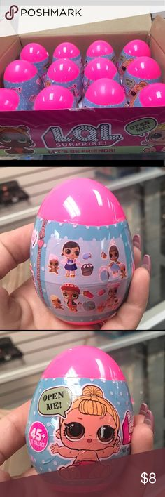 Lol surprise eggs Lol surprise eggs come with one little sister doll and 2 Accessories & Other Stories Other