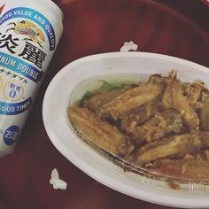 今日は「唐揚げ」✨ ウマー(・∀・) #オリオン #大好き #favorite #レストラン #restaurant #美味しい #delicious #オススメ #唐揚げ #meat #肉 #チキン #鶏肉 #chicken #ご飯 #晩ご飯 #お持ち帰り #テイクアウト #takeout #togo #発泡酒 #beer #lowmaltbeerlikebeverage #淡麗 #キリン #KIRIN
