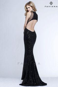 e1601c7156a5 Discover the Faviana 7331 Prom Dress. Find exceptional Faviana Prom Dresses  at The Wedding Shoppe. Pocadiz Bridal Boutique