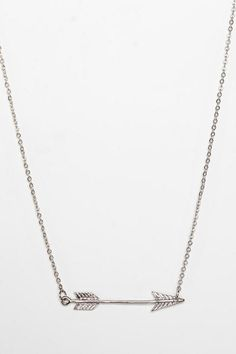 Delicate Arrow Necklace