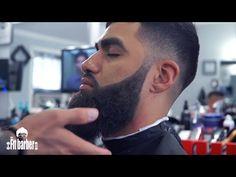 Skin Fade Faux Hawk with a Beard Trim Haircut Men Tutorial - (Showcase) - YouTube