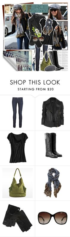 """""""Celebrity Closet: Nina Dobrev"""" by fashionfemmefatale ❤ liked on Polyvore featuring Citizens of Humanity, Gucci, Old Navy, Jil Sander Navy, Linea Pelle, Yigal AzrouÃ«l, Armani Exchange, Tom Ford, Brixton and skinny jeans"""