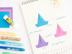 Inspiration | Der Mitmach-Kalender: 12 Bastel-Ideen für's ganze Jahr.