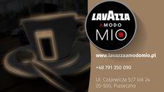 Zapraszamy na kawę do naszego sklepu www.lavazzaamodomio.pl