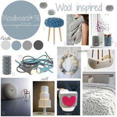 My moodboard on wednesday: wool inspirations.