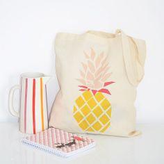 Tote Bag Ananas - Petite Mila