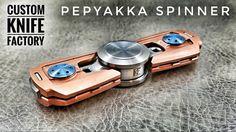 Image result for custom knife factory spinner