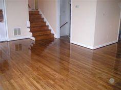 Joseph Boyer Hardwood Flooring - Canton, GA, United States. White oak  stained Jacobean