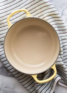 How To Clean Burnt Stains off Enameled Cookware — Cleaning Lessons from The Kitchn | The Kitchn