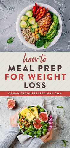 Meal prep can look many different ways and take on multiple forms. It can help you reduce stress, save money, and eat healthier foods during the week. But if you want to drop a few pounds, then using meal prep for weight loss can make it easier to stay on track with nutrition and reach your health goals. Organize Yourself Skinny Healthy Meal Prep Tips   Weight Loss Tips   How To Lose Weight Healthy Freezer Meals, Healthy Eating Habits, Healthy Foods To Eat, Clean Eating Recipes, Healthy Recipes, Easy Meal Prep, Healthy Meal Prep, Healthy Cooking, Cooking Tips