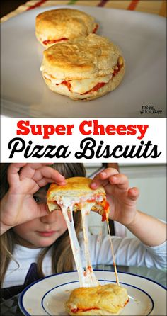 Pizza Biscuits - Food Fun Friday | Mess For Less