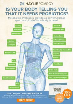 Did you know? Metabolism Probiotics provides a powerful broad spectrum of relief for a body in need.