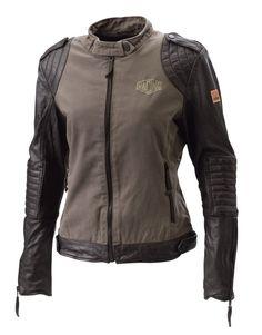 KTM Girls Leather Jacket - Jackets - Women - Casual - PowerWear