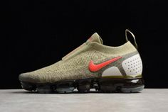 uk availability 2a7dc 46784 Where To Buy 2018 Mens Nike Air VaporMax Moc 2.0 Neutral Olive AH7006-200  For