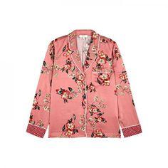 Lillit Floral-print Satin Shirt