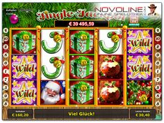 Ho, Ho, Ho... Der #Novomatic Slot 'Jingle Jackpot' hat jede Menge Bonusfunktionen und einen progressiven Jackpot mitgebracht - der ideale online Slot über die Festtage.