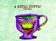 TEAlightful cuppa fit for a queen. Queen of MonTEA. What my #Tea says to me May 20, enjoy your royal Cuppa. Cheers. 'Tis a TEAlightful holiday in Canada today :)