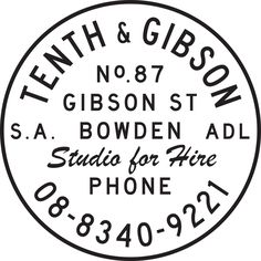 Tenth & Gibson Studio - Tenth & Gibson is a unique addition to Adelaide's professional photography and video production industry.  Situated just 5 minutes from the CBD in a renovated warehouse in Bowden, The Studio boasts an open plan area of approximately 200sqm.  Tenth & Gibson's recycled materials and bespoke design lends itself to all manner of productions.