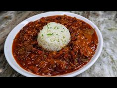 Louisiana Style Red Beans and Rice Recipe| Easy Recipe - YouTube Yellow Rice Recipes, Red Beans N Rice Recipe, Easy Rice Recipes, Louisiana, Chili, Side Dishes, Easy Meals, Soup, Pasta