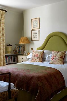 Guest Bedroom - A mid-nineteenth-century family home in a garden square with restored features - real homes on HOUSE by House & Garden.