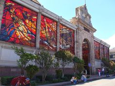 All things Mexico. The Mexican city of Toluca is home to an awesome stained glass wonder called the Cosmovitral. Constructed in 1910, the Art Nouveau-style building was originally designed to house the city's first permanent market.
