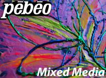 Pour, drip & create with Pebeo Mixed Media products. Anyone can combine Pebeo Moon, Prisme & Glass Paint, Resins & Acrylic Mediums to create Mixed Media Art