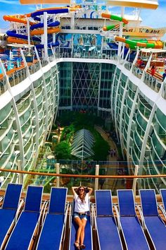 Harmony of the Seas | Adventure from top to bottom. Race your friends on The Perfect Storm, a trio of translucent waterslides as you plunge into the pool below. Take adventure a notch further as you climb into The Ultimate Abyss, and plunge 10 stories deep from atop the tallest slide at sea. Cruise with Royal Caribbean onboard Harmony of the Seas for near-vertical drops and heart-pumping thrills in every direction you look.