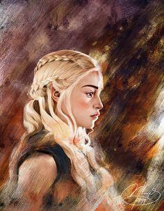 Daenerys Targaryen - Game of Thrones - Mikee Flores
